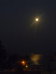 It was a full moon night