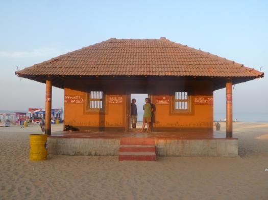 On Panambur Beach